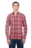 Male model in shirt — Stock Photo