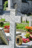 Cemetery in Italy — Stockfoto