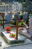 Cemetery in Italy — Stock Photo