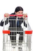 Man shopping — Stock Photo