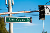 Las Vegas street sign — Stockfoto