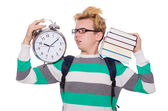 Student missing  deadlines — Foto de Stock