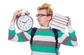 Student missing  deadlines — Stock Photo