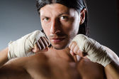 Martial arts expert — Stock Photo