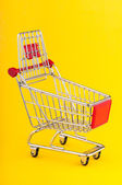 Shopping cart — 图库照片