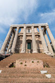 Ancient Rome ruins — Stock Photo