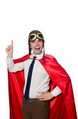 Funny hero isolated on the white — Stock Photo