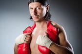 Geript martial arts expert op training — Stockfoto