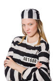 Funny prison inmate in concept — Stock Photo