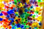 Colourful background made up of abstract shapes — Stock Photo