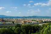View of Florence during the day — Stock Photo