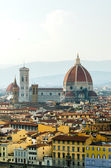 Florence cityscape with Duomo as main subject — Stock Photo