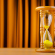 Time concept with hour glass — Stock Photo #7384489