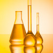 Chemical laboratory and tubing — Stock Photo #8868957