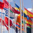 Stock Photo: National flags of different country