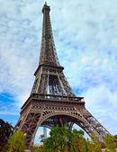 Torre eiffel en parís — Foto de Stock