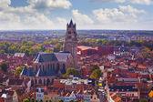Vista superior de la catedral de san salvador — Foto de Stock
