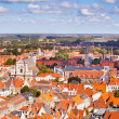 Panorama of the central part of Bruges — Stock Photo