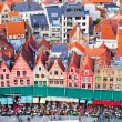 Aerial View of Bruges — Stock Photo