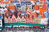 Aerial View of Bruges — Foto de Stock