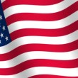 Stock Video: Waving flag of United States of America
