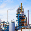 Petroleum refinery — Stockfoto