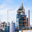 Petroleum refinery — Foto Stock