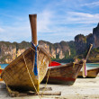 Longtail boats - Stock Photo
