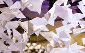 Origamis. grues de papier — Photo