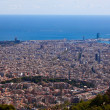 Barcelona. Spain. View of the city from the top. — Stock Photo #32928629