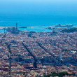 Barcelona. Spain. View of the city from the top. — Stockfoto