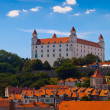 Old Castle in Bratislava on a Sunny Day — Foto Stock