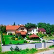 Cozy village in Slovakia's countryside — Stock Photo