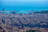 Barcelona. espanha. vista da cidade do topo. — Foto Stock