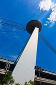 Restaurante ufo, nuevo puente, bratislava, eslovaquia — Foto de Stock
