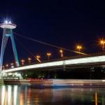 Ufo restaurant, New bridge, Bratislava, Slovakia — Stock Photo #37681529