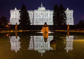 Madrid Royal Palace (Palacio de Oriente) — Stock Photo