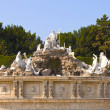 Stock Photo: Neptune Fountain at the Schonbrunn Palace, Vienna