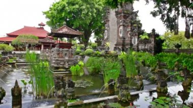 Water Palace. Bali island. Indonesia — Stock Video