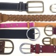 Collection of belts — Stock Photo #18318211
