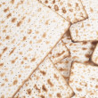 Matzbread for passover celebration — Stock Photo #20096971