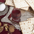 Matzbread for passover celebration — Stock Photo #41512611
