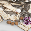 Matzbread for passover celebration — Stock Photo #41512667
