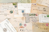 Nineteenth century letters — Stock Photo