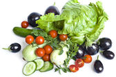 Isolated diet vegetables — Stock Photo