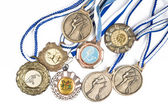 Sport medals — Stock Photo