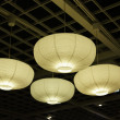 Paper lamp shades - Stock Photo