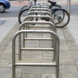 Stock Photo: Bicycle Parking spaces