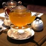 Tea heated candle — Stock Photo #35435011