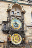 Prague, astronomical clock — Stock Photo